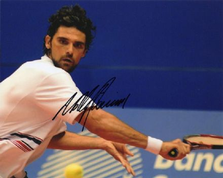 Mark Philippoussis, signed 10x8 inch photo.